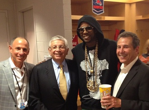 stern and 2chainz