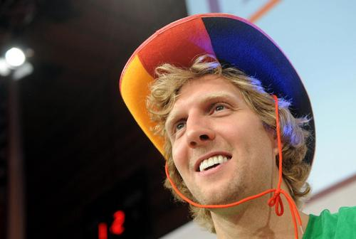 dirk colorful hat