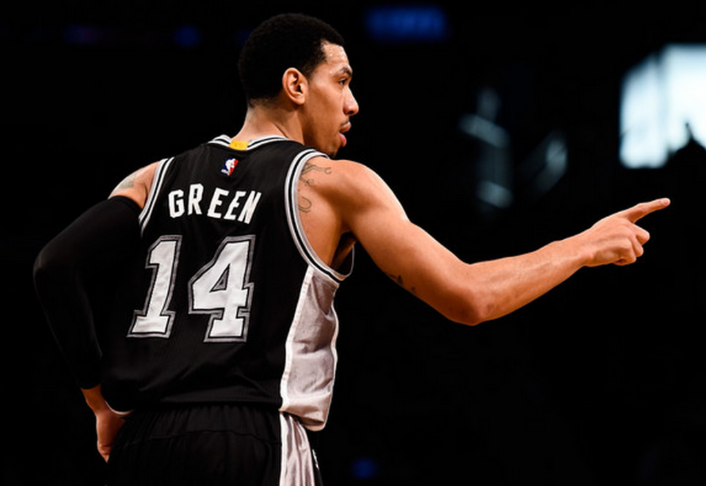Danny Green, Lucky Dude (Alex Goodlett/Getty Images)