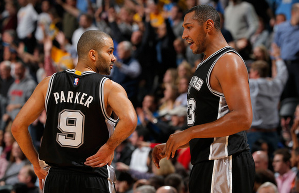 Tony Parker and Boris Diaw -- two players that are, uh, kinda crappy this year.
